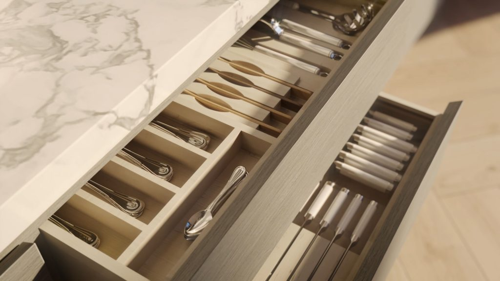 Ritz Penthouse Collection - Soft Close Drawers